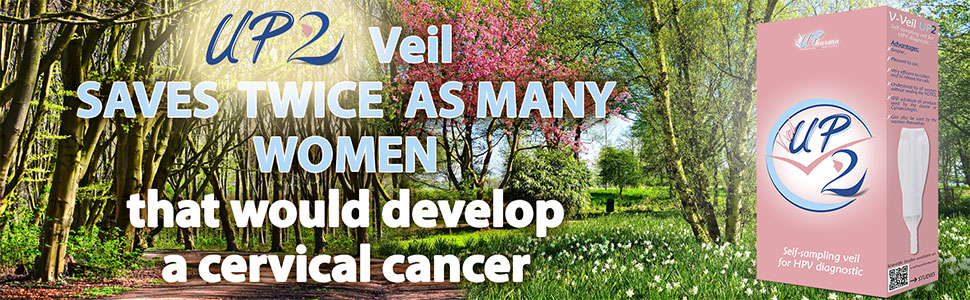 UP2 Veil detect twice more women who would develop a cervical cancer